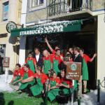 Inauguração 1ª loja Starbucks PortugaL, em Belém