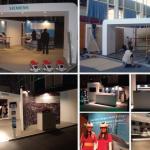 Stand Siemens no Congresso Ferroviário de Lisboa